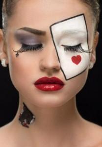Фантазийный образ в макияже