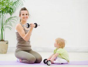 Фитнес мама — худеем вместе!